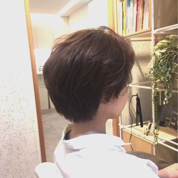横浜・石川町、美容室Grantus,ヘアスタイル、ショート、スタイリング