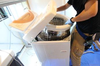 洗濯機の分解洗浄・クリーニング|お掃除ハウス新潟【阿賀野市】