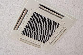 天井埋込型エアコンのクリーニング・洗浄|お掃除ハウス新潟【阿賀野市】
