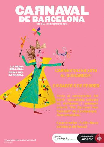 Programa del Carnaval de Horta - Guinardó 2016