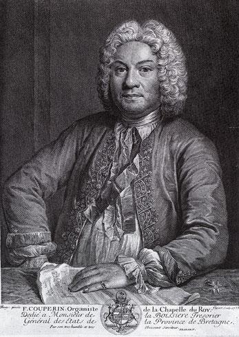 François Couperin. Kopergravure van J.-J. Flipart naar A. Bouys, 1735.@url: www.desingel.be/dadetail.orb?da_id=21210