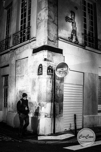 paris, spielberg, noir et blanc, black and white, street photography, art, travel, marais