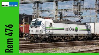 Railcare Rem 476 Vectron Fotosammlung