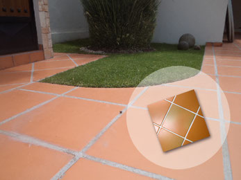 Loseta de barro natural, en formato 33x33 perfecto para pisos rústicos, pisos para cocinas, salas, reacámaras los tenemos en www.rusticosartesanales.com