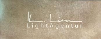 werftbeton Schriftenbeton Firmenschild aus Beton Light Agentur Klaus Liese