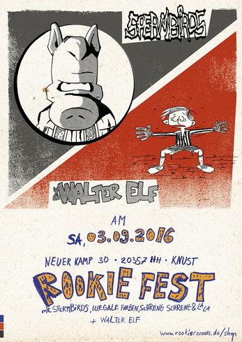 Rookie Fest-Plakat