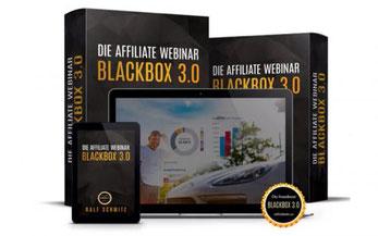 Die AFFILIATE WEBINAR BLACKBOX