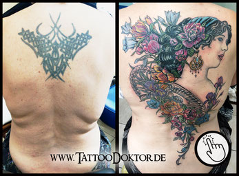 Tattoo Cover Up Reparatur Rostock