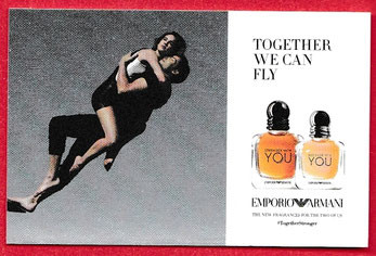2017 - EMPORIO ARMANI : PETITE CARTE TOGETHER WE CAN FLY