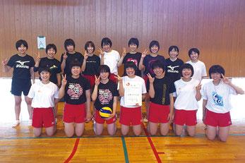 藪塚本町中女子バレーボール部