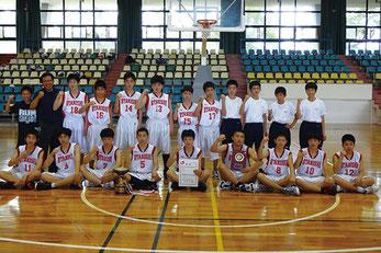 太田西中男子バスケットボール部