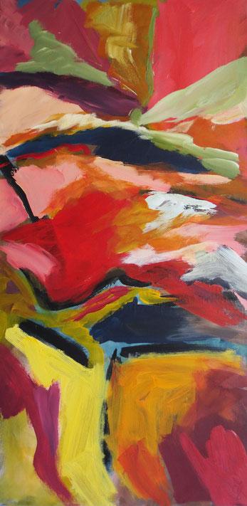Abstrakt – Acryl auf Leinwand – 60x40 cm – 2013