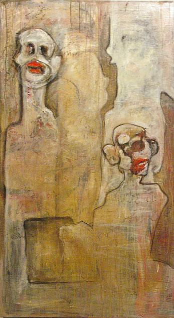 Acrylique sur toile 154 x 85