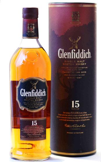 Glenfiddich 15 Jahre Solera Reserve
