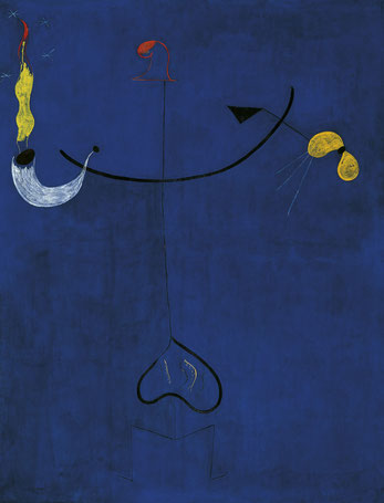 """""""Campesino Catalán con guitarra"""" Joan Miró"""