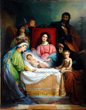 peinture_navez_le_sommeil_de_jesus