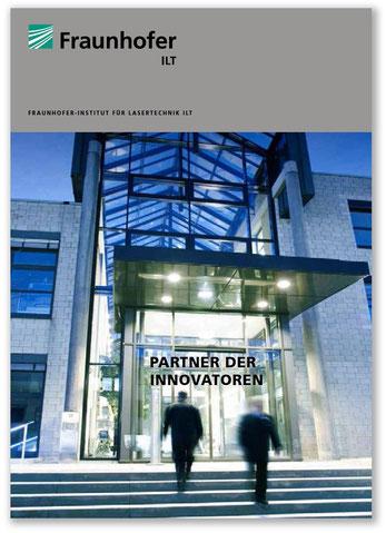 Jimdo Expert Stuttgart - Peter Scheerer - Imagebroschüre Fraunhofer ILT