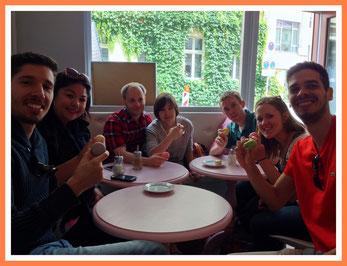 Macaron Tasting @ Berlin Mitte Food Tour