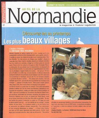 Article:Au fil de la Normandie