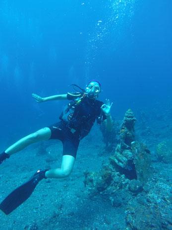 Bali, 2017, Coral Garden, Tulamben, Zwei auf Achse, USS Liberty, Tauchgang, Tauchen, Indonesien