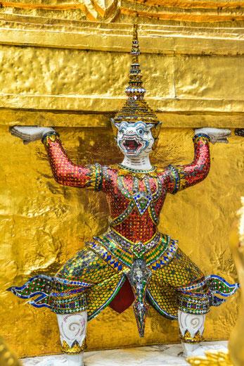 Wat Phra Kheo Bangkok/Temple Guardian in Wat Phra Kheo