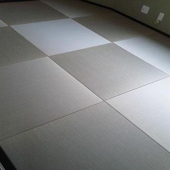琉球畳(縁なし畳)新調