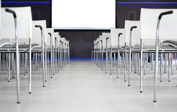 Konferenzraum mit Sesseln