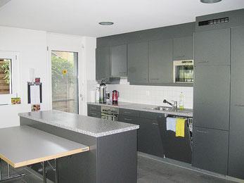 Bild der Küche im Gemeinschaftsraum