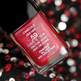 CHANEL • CANICULE RED HOT 59