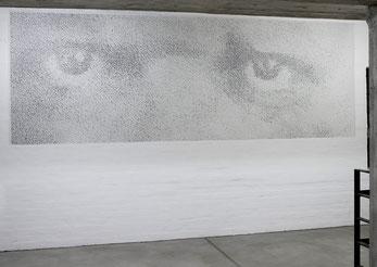 Studie für ER 2007 Acrylfarbe 150 x 440 cm Privatbesitz