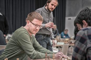 ...endete Remis unter Beobachtung von Mario Schachinger