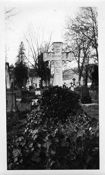 Grabstätte von Johannes Lentz