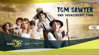 Tom Sawyer Huckleberry Finn teatro Stadttheater Mödling Stadtgalerie
