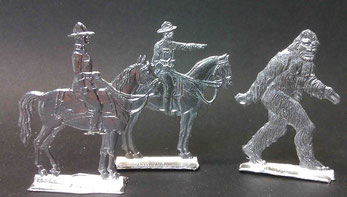 die Mounties und der Sasquatch A100-A103 Gravur: Sambet (A100 ) K. H. Rieger