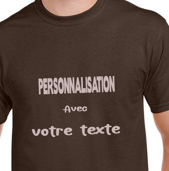 teeshirt personnalisé