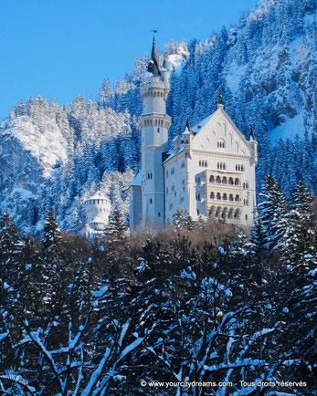 Les paysages d'hiver sont magnifiques en Bavière