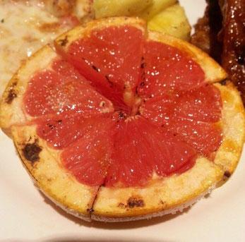 BBQ 焼きグレープフルーツ