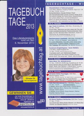 Anmeldung susanne.praunegger@chello.at  16.11.2013- 16 Uhr 1050 Wien