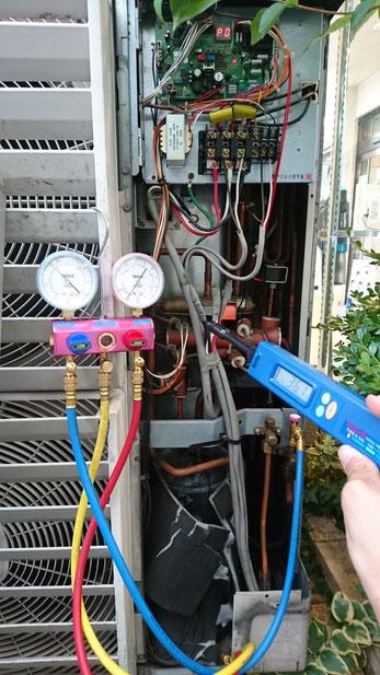 業務用エアコンの修理・点検・フロン関係はおまかせ