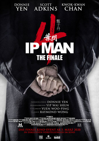 IP Man The Finale Plakat
