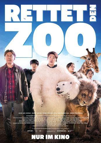 Rettet den Zoo Plakat