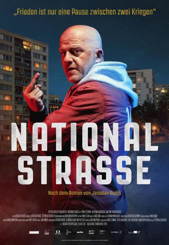 Nationalstraße Plakat