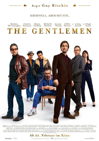 The Gentlemen Plakat