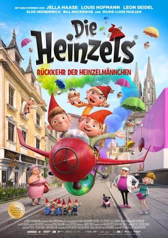 Die Heinzels 2 Plakat