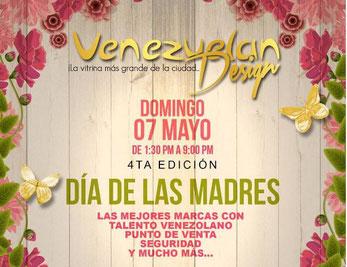 Venezuelan Design - 4ta Edición, Día de las Madres