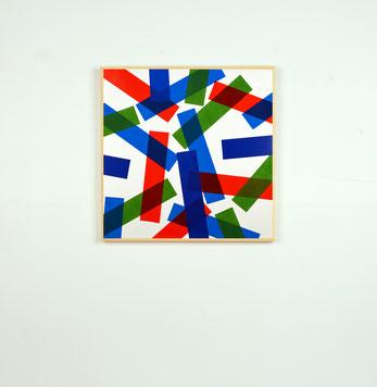 Rythme n°6, dim. 43 cm x 43 cm, 2018