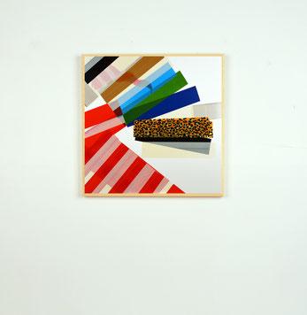 Art du collage de l'artiste bordelais Laurent Valera, questionner la vie et le vivant.