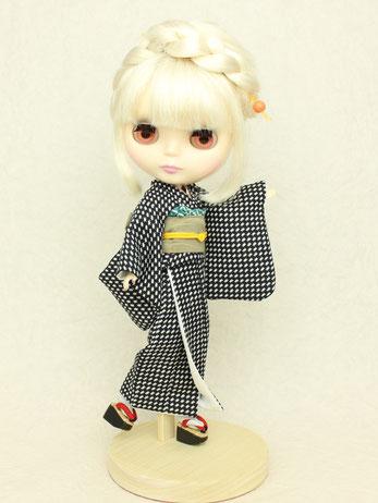 Blythe kimono,kimono doll,wafuku