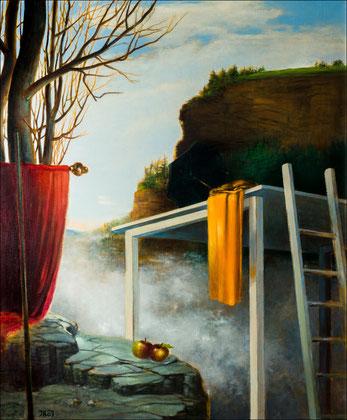 BAROQUE WALL   , 2004, Öl auf Leinwand