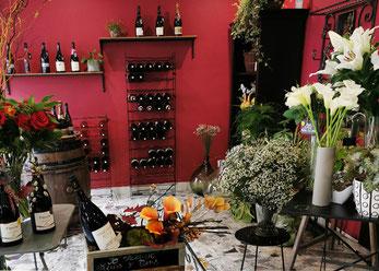 FLEURISTE SO FLEURIE - Cadeau coffret vins et fleurs